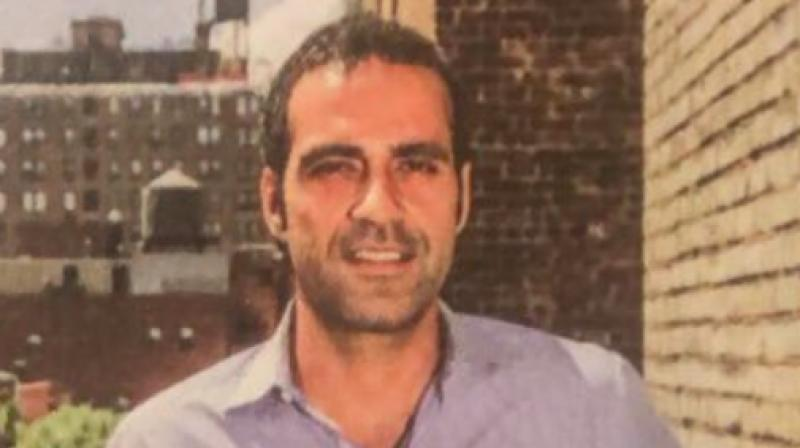 The 38-year-old British-born writer, the son of Pakistani politician Salmaan Taseer and journalist Tavleen Singh, has been accused of concealing the fact that his father was a Pakistani. (Photo: Twitter)
