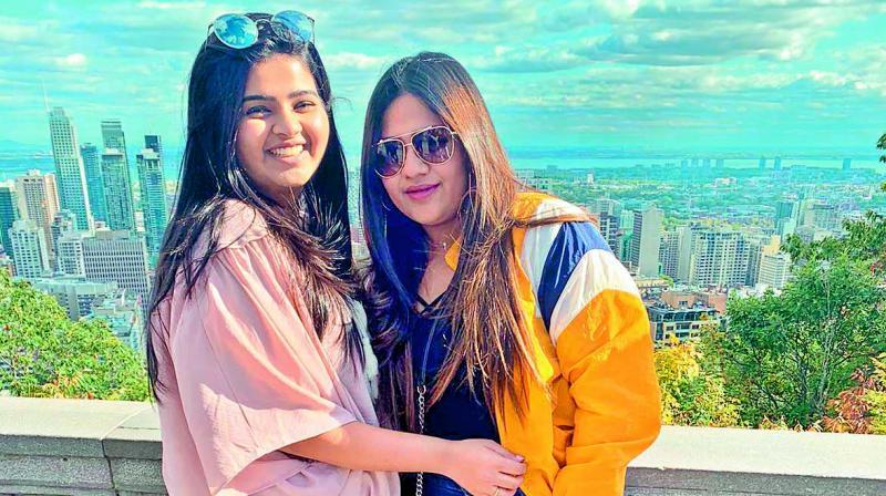 Preksha Singhvee and Navika Lohia