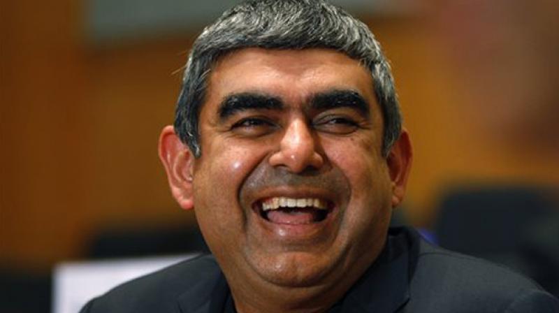 Infosys CEO Vishal Sikka.