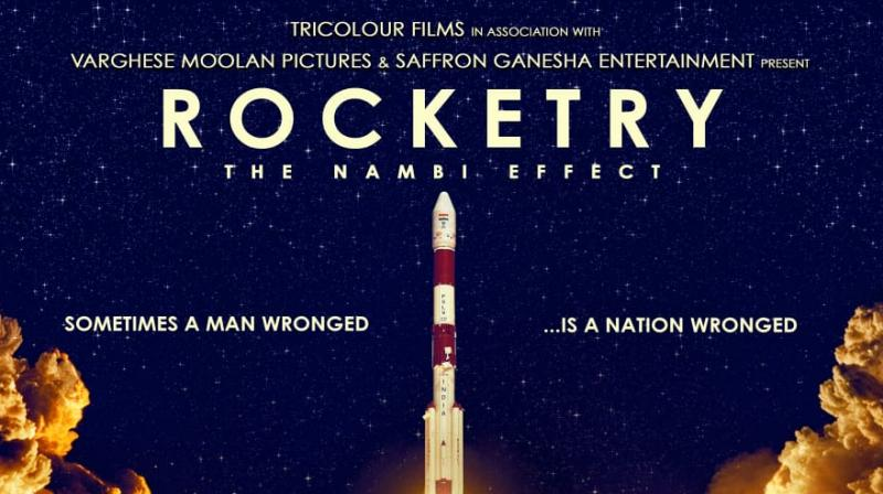 Rocketry poster.