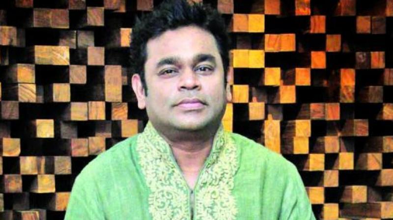 A.R Rahman.
