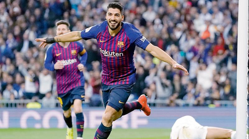 Suarez joined Barcelona in 2014 from Liverpool with his reputation in tatters for biting an Italy defender in the World Cup. (Photo: AP)
