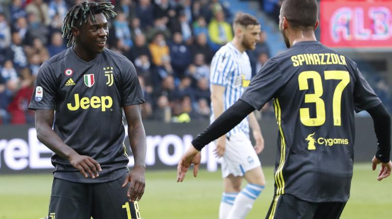 The incident is another reminder of the need for action across Europe, following recent racist abuse aimed at Juventus players, including young star Moise Kean, in a Serie A game at Cagliari earlier this month. (Photo: AP)