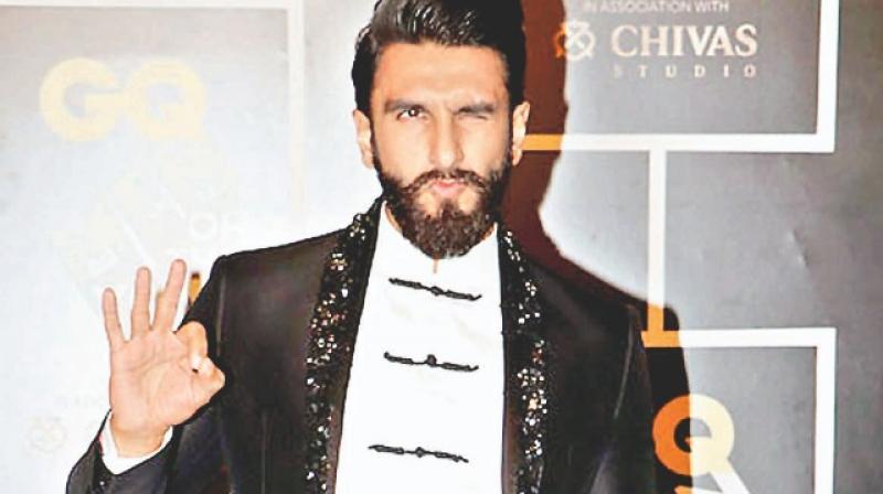 Bollywood actor Ranveer Singh.