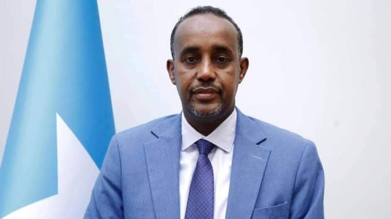 Mohamed's office announced late Thursday the appointment of Mohamed Hussein Roble, a Swedish-trained civil engineer and political neophyte.Image: Twitter/@AbikarDr)