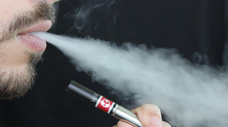 Six deaths have been linked to vaping and US public health officials are investigating 450 cases of potential vaping-related lung illness across 33 states and one US territory. (Representational image)