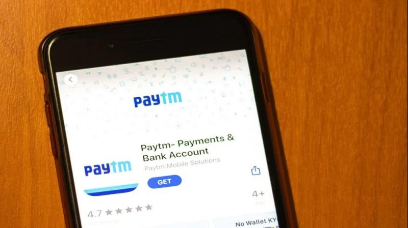 Paytm has more than 100 million monthly active users. (Photo: PTI)