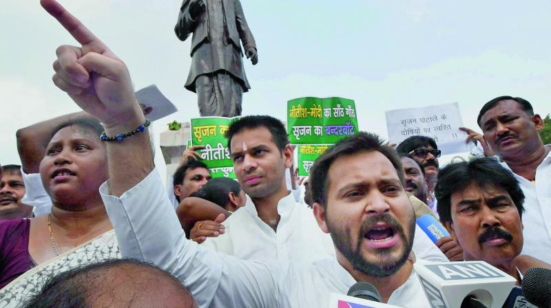 Former Bihar deputy chief minister Tejashwi Yadav. (Photo: File)