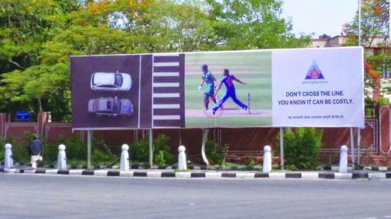 Jaipur Traffic Police used Jasprit Bumrah's no-ball to spread traffic awareness