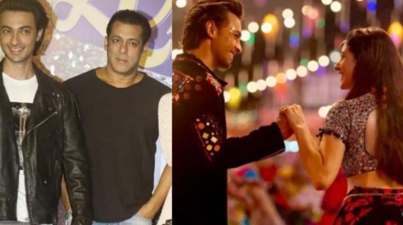 Salman Khan had launched the trailer of 'Loveyatri' starring Aayush Sharma and Warina Hussain.
