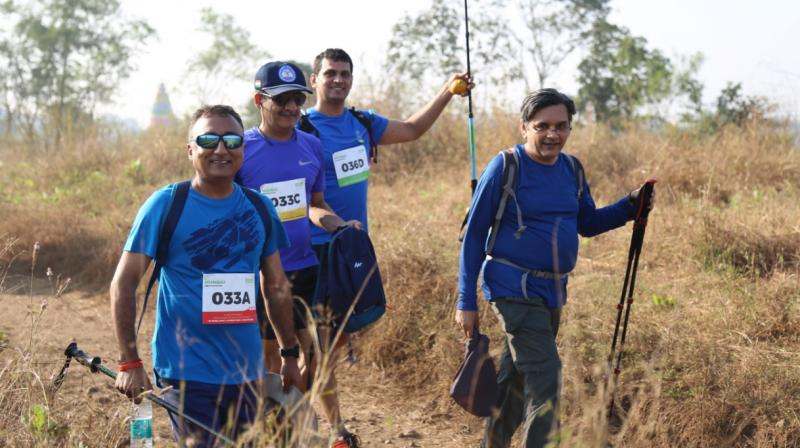 Oxfam Trailwalker India Participants (Photo: File)
