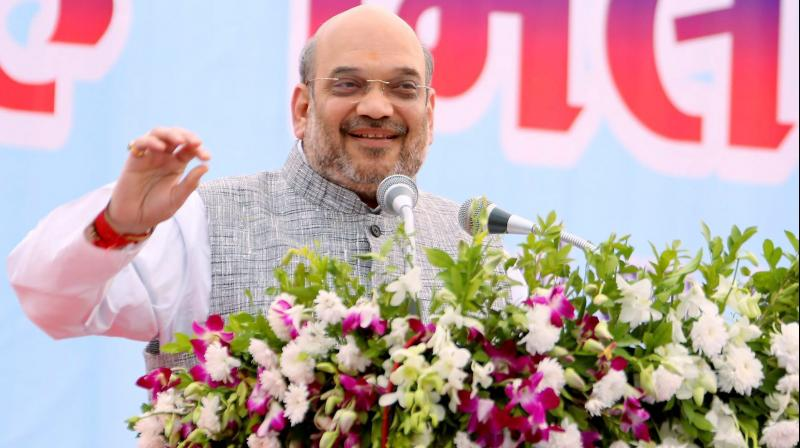 Shah said BJP was seriously involved in welfare and uplift of the downtrodden unlike other parties,