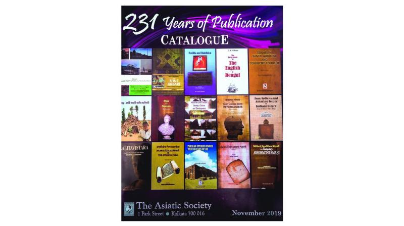 The Asiatic Society's 2019 catalogue