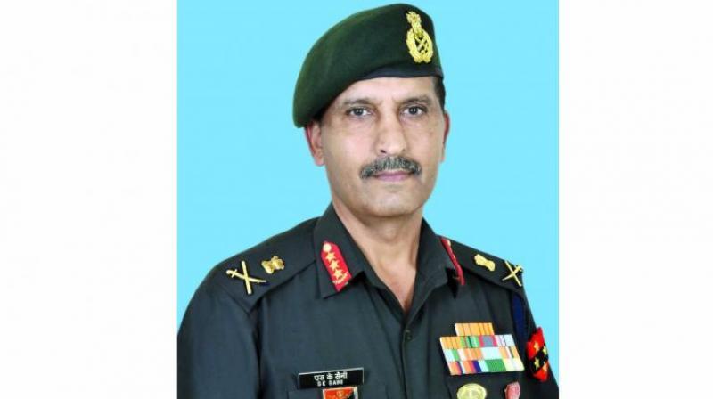 Lieutenant General S.K. Saini