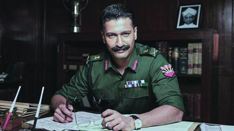 Vicky Kaushal in Field Marshal Sam Maneksaw biopic