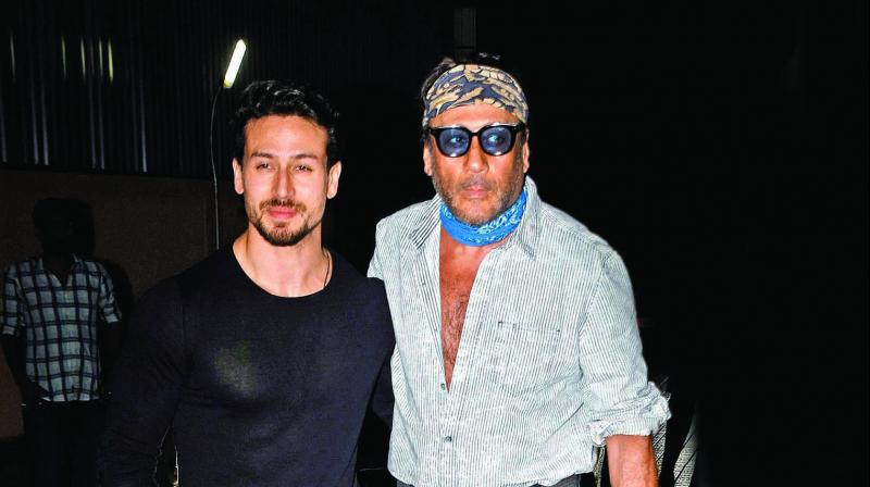 Ever since Tiger Shroff debuted in Bollywood, the fans have been waiting to see him share screen space with his father Jackie.