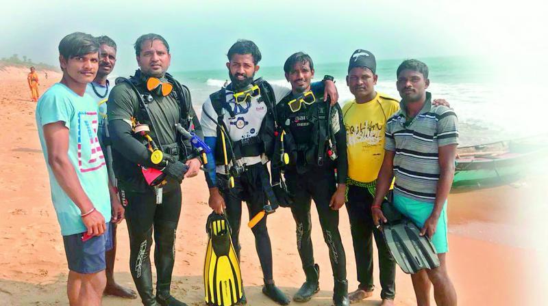 Balaram Naidu, P.R. Rahul, Pappu Laxman Rao and Satyanarayana Naidu
