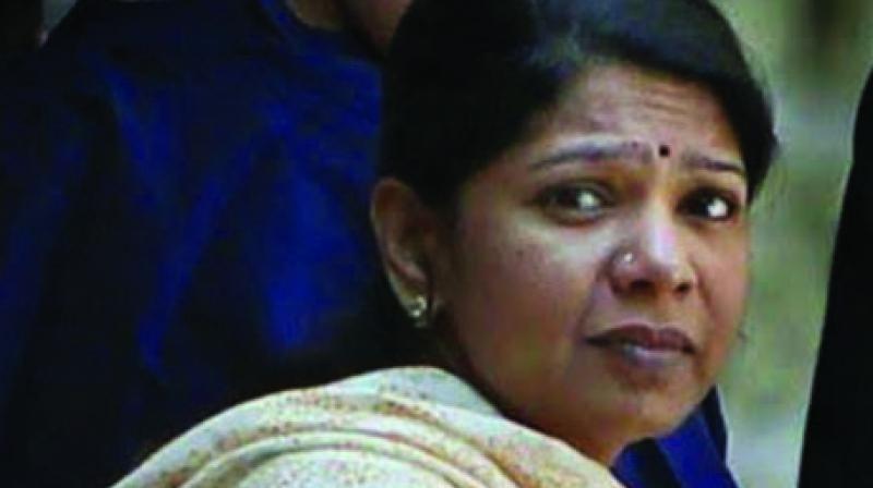 DMK leader Kanimozhi Karunanidhi
