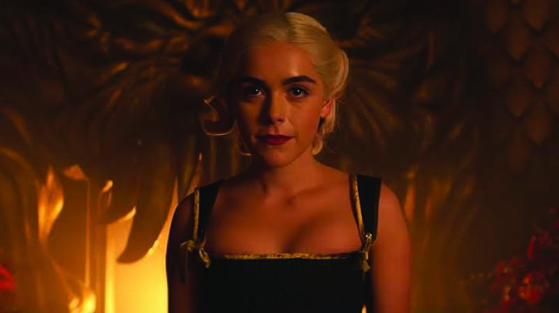 A scene from the film Chilling Adventures of Sabrina