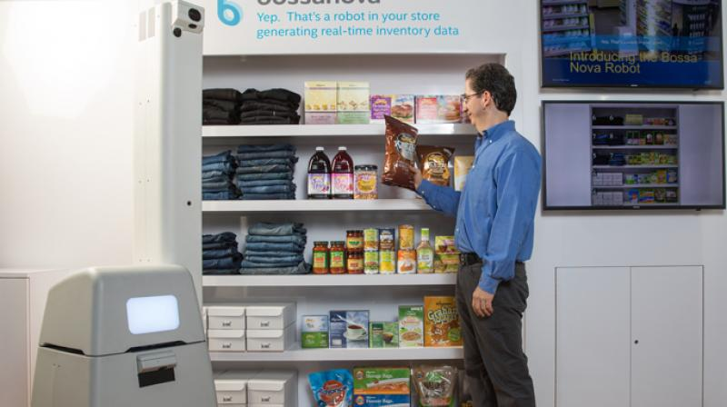 Hershey uses Intel-based AWM Smart Shelf to keep retailers in the loop on shrinking inventory and shopper statistics. (Photo: Intel)