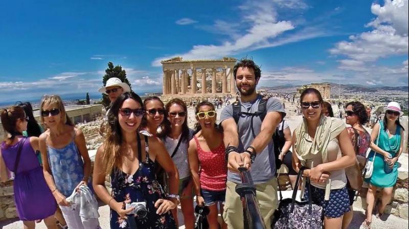 A selfie from Greece.