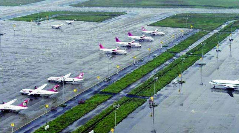 Under the Centre's scheme UDAN, it was proposed to have interconnectivity via air route within the states.