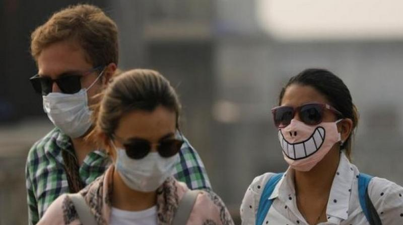 The AQI in Greater Noida, Gurgaon and Noida was 387, 326 and 382 respectively. (Photo: File)