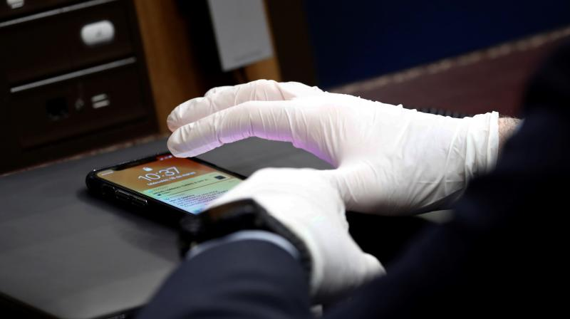 Smartphone supply and demand plummeted in China and across Asia, and slowed in the rest of the world. (Photo   AFP)