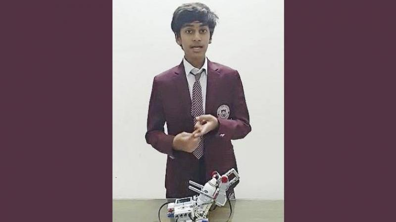It will soon be normal for machine learning systems to drive our cars and help doctors diagnose and treat our illnesses. It's important that kids are aware of how Artificial Intelligence can be used in real life applications, Siddh Sanghvi said. (Photo | Khaleej Times)