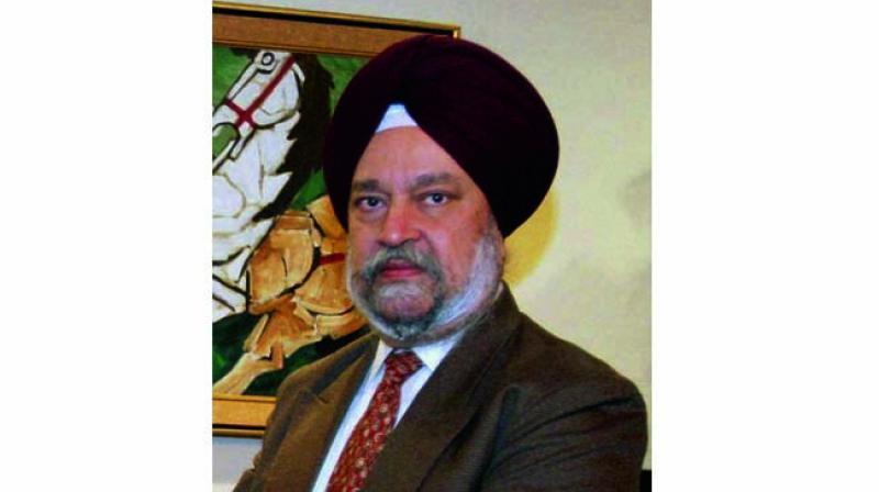 Hardeep Puri, Union minister