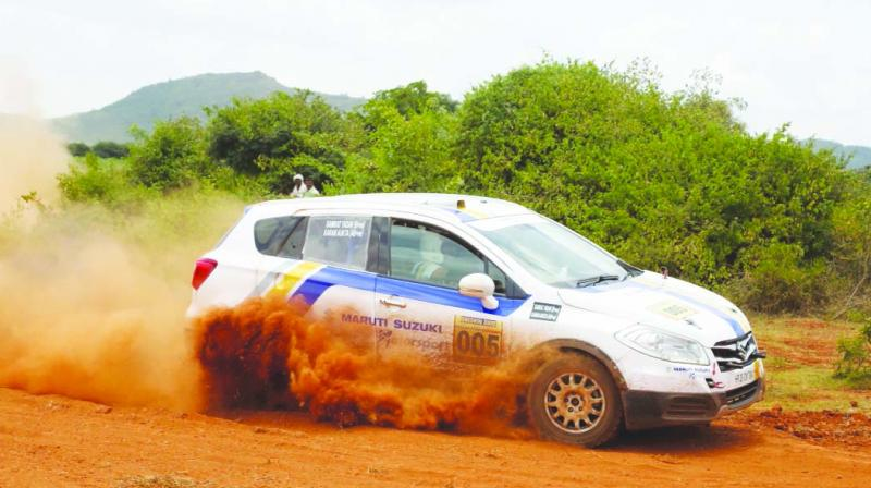 Action from the Day Three of the Maruti Suzuki Dakshin Dare.