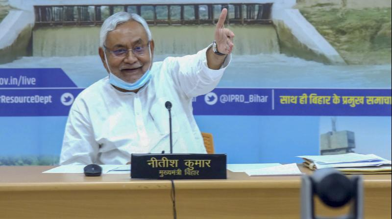 Bihar Chief Minister Nitish Kumar. — PTI photo