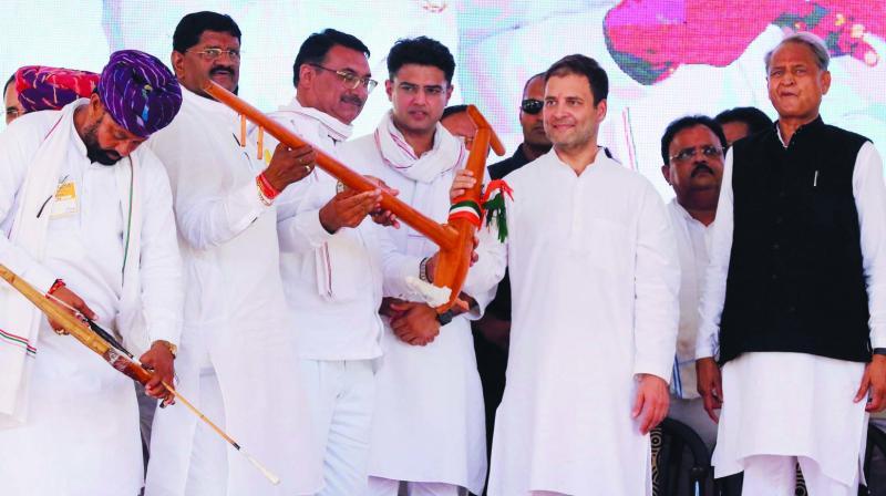 Rajasthan Congress all set to play ball with Mayawati