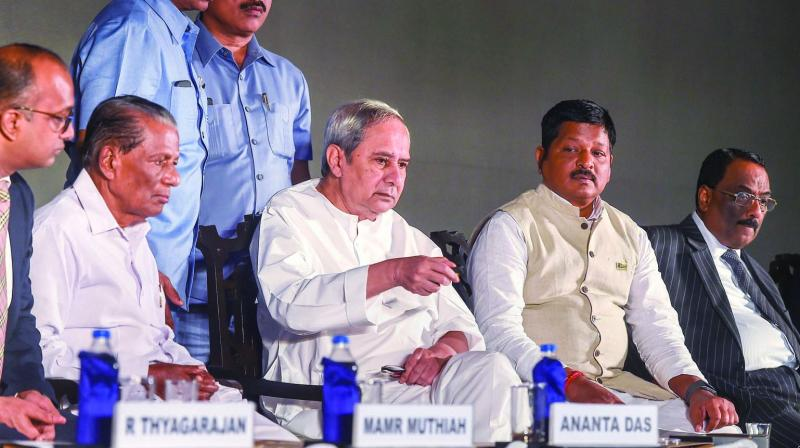 BJD president and Odisha chief minister Naveen Patnaik is giving a tough fight to the BJP and Congress while striving to retain power without any tie-ups.