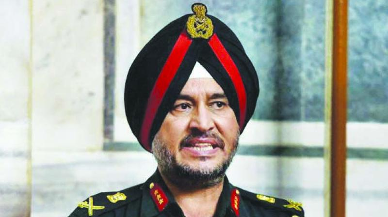 Northern Army Commander Lt. Gen. Ranbir Singh