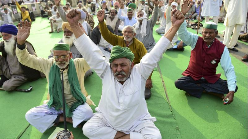 The honest way of going about this important issue dealing with the challenges of agriculture is to tell the truth that the government is unable to pay the rising MSP bill. (PTI/Kamal Kishore)