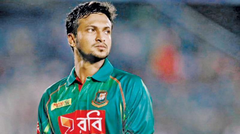 Shakib now has 359 points, 20 clear of Afghanistan's Rashid Khan, the previous holder of the top ranking, who has now slipped to No. 2. (Photo: File)