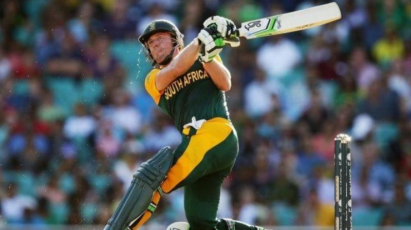 AB's knock of 162 not out came just 40 days after he struck a 31-ball 149 against the West Indies in Johannesburg. (Photo: AFP)