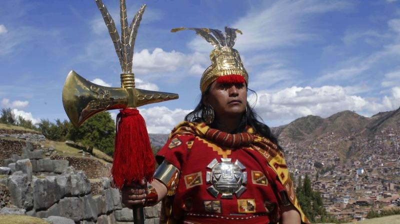 Across the Andes, from the tip of Argentina as far north as Colombia, indigenous communities along the path of what was once the Incan Empire are gathering for the southern hemisphere's winter solstice to honor the ancient sun god Inti. (Photos: AP)