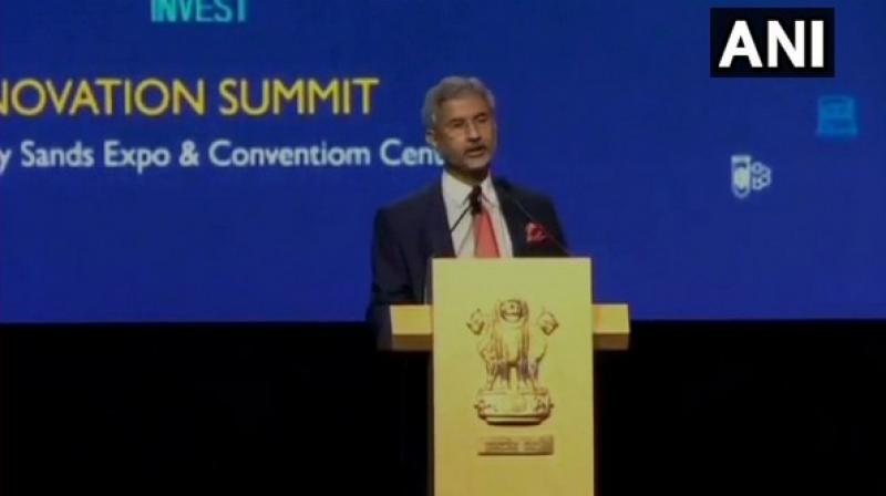 During the Plenary session, the minister recalled that India and Singapore came together in a very contemporary phase, at a time when the world was changing, including India. (Photo: ANI)
