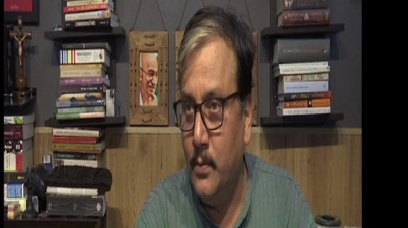 'I am not able to believe in Amit Shah's trust (regarding Article 371),' Jha said. (Photo: ANI)