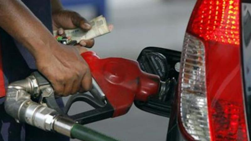 "A day after reducing basic excise duty on petrol and diesel, the Centre on Wednesday urged states to reduce VAT on fuel by 5 per cent to ""help people"".  (Photo: PTI)"