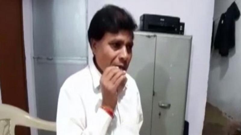 The man said that his strange habit caused damages only to his teeth and there was an adverse effect on his overall health. (Photo: ANI)