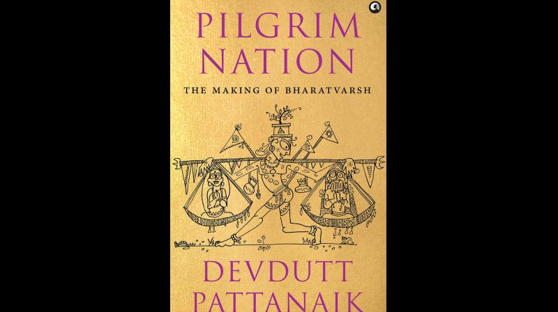 Cover page of Pilgrim Nation: The Making of Bharatvarsh.