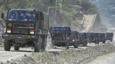 China border tension due to Indian soldiers' border patrolling