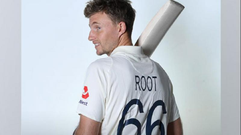 The name and number on the Test jersey is an initiative by the ICC to help fans connect with the players. (Photo: England Cricket/Twitter)