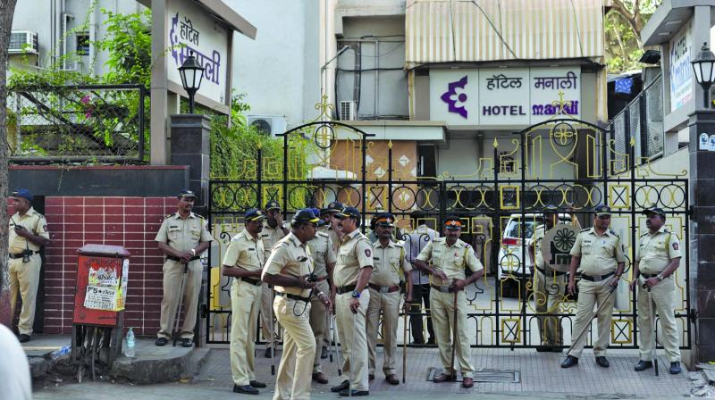 The three poll counting stations at Sewri, Vikhroli and Goregaon will witness heavy police deployment on Thursday with the presence of the city police, reserve police and commandos there.