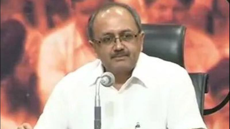 UP Health Minister Sidharth Nath Singh also hit out at MP CM and Cong leader Kamal Nath over his government's decision to 'temporarily' stop recital of Vande Mataram at state secretariat. (Photo: Twitter   @SidharthNSingh)
