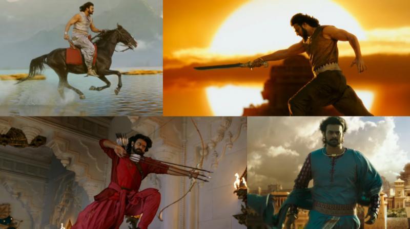 Watch: Prabhas is at his impressive best in Baahubali 2's