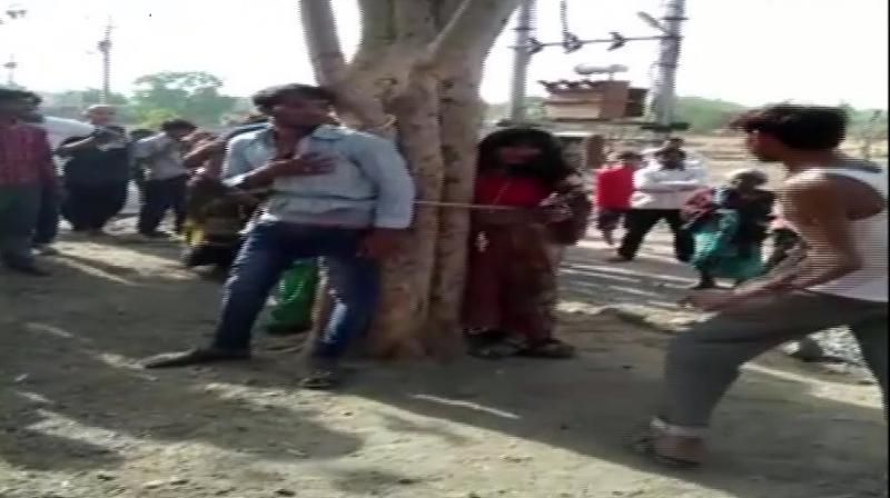 Five persons have been arrested in connection with the incident, a video of which has gone viral on social media. (Photo: ANI)